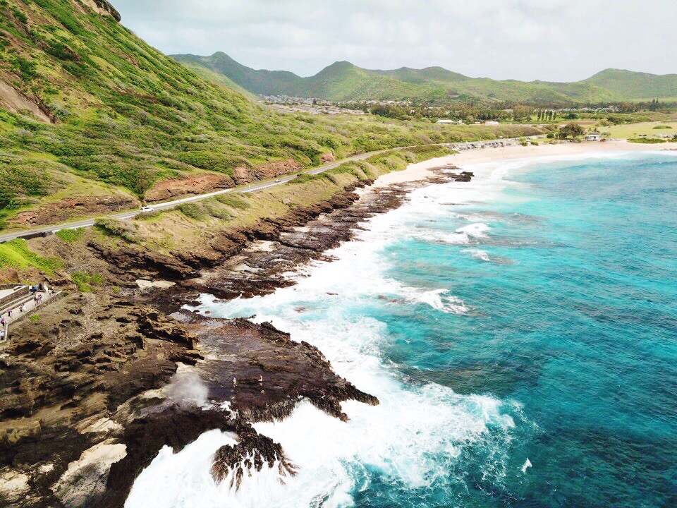 30 Drone Photos To Inspire An Oahu Hawaii Vacation #oahu #hawaii #vacation #travel