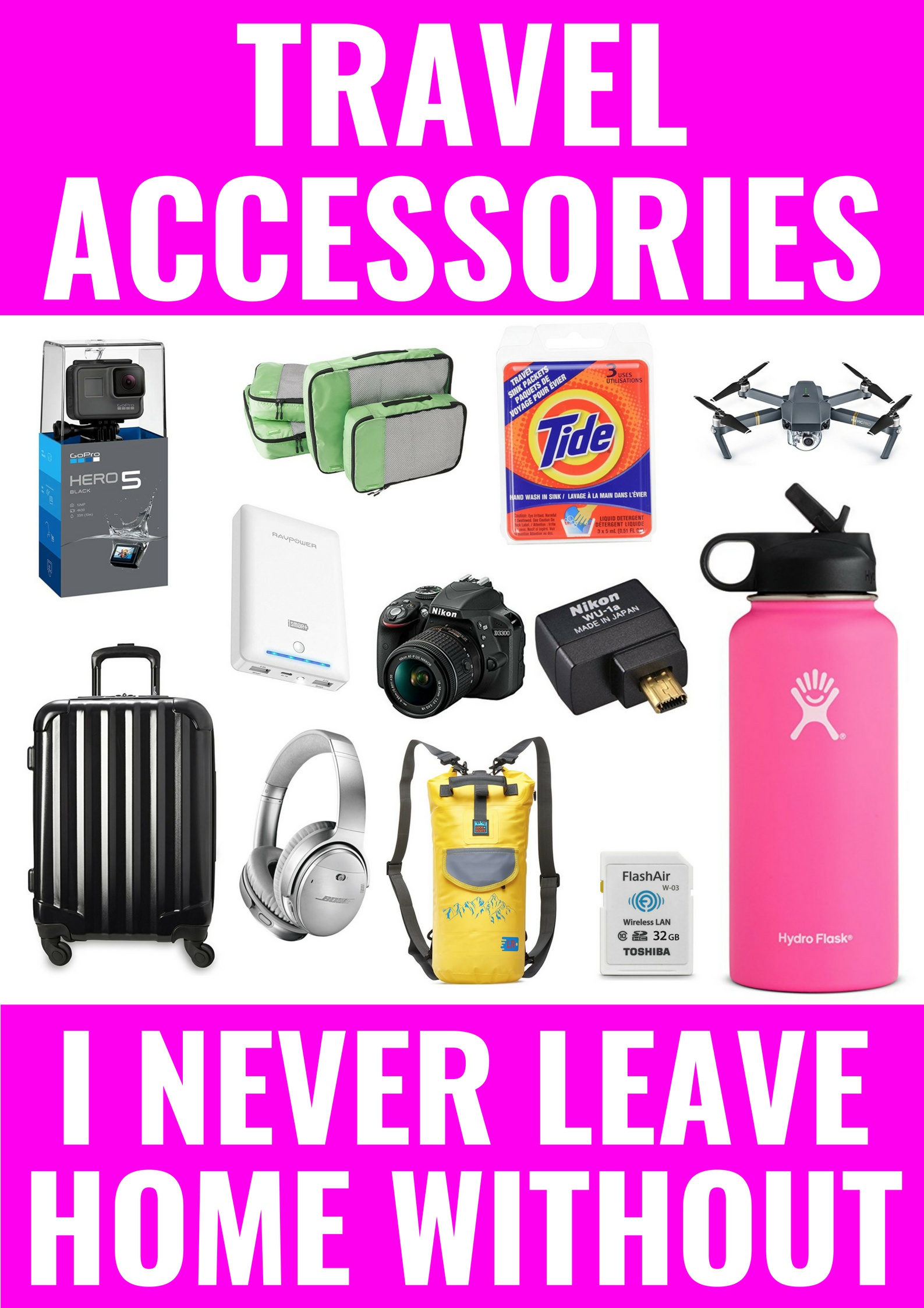 Travel Accessories I Actually Use