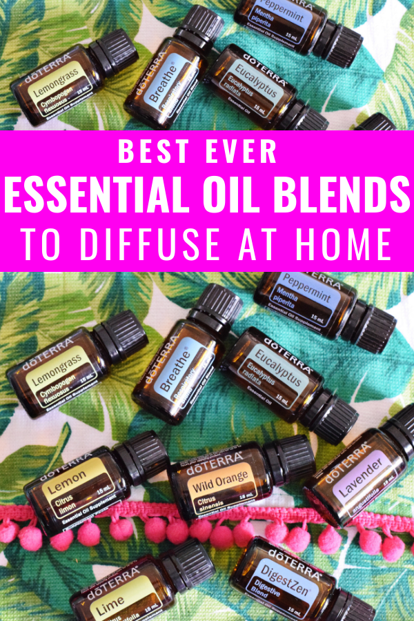 Best Essential Oil Blends To Diffuse