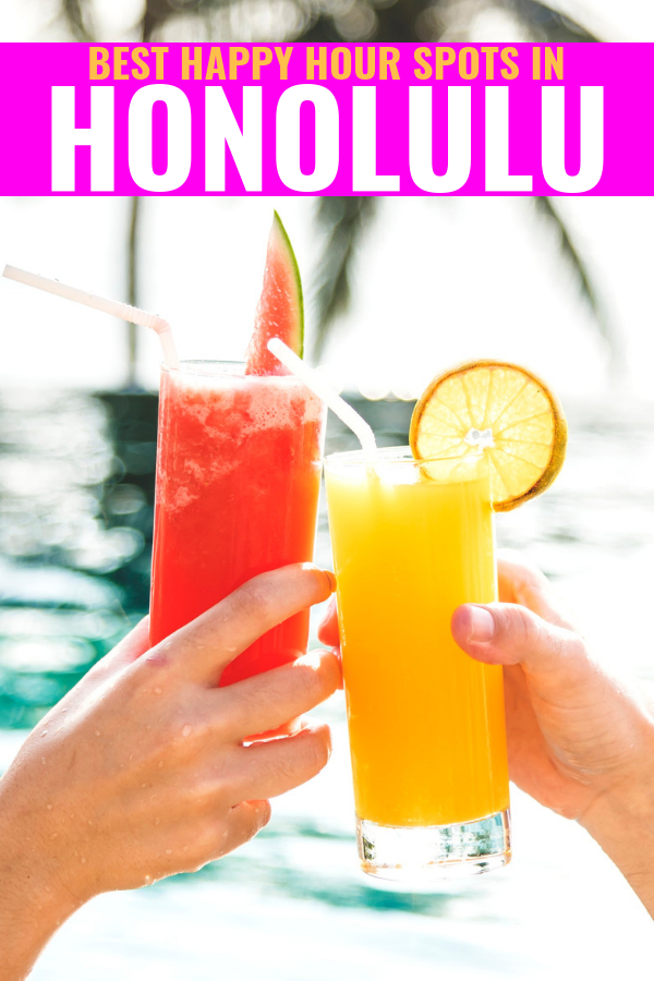 Best Happy Hours In Honolulu - Happy Hour In Honolulu - Best Happy Hour Oahu - Oahu Bars - Best Places to eat Oahu - Best bars on Oahu - Happy Hour Hawaii - Hawaii Trip - Hawaii Travel Blog - #hawaii #oahu #happyhour #travelblog