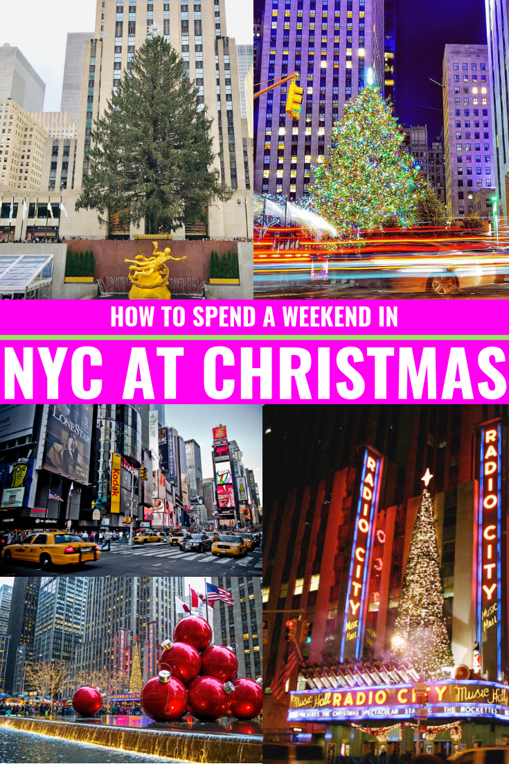 5 Must-Dos In NYC This Holiday Season