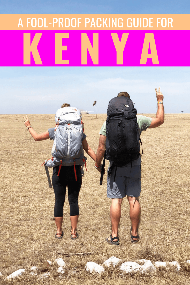 Kenya Safari Packing List