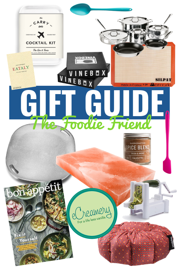 GIFT GUIDE FOR THE FOODIE | Gift Ideas For Foodie Friends - Gift Ideas For At-Home Chef - Culinary Gift Ideas - Stocking Stuffer Ideas - Christmas Gift Ideas - Gift Guide For Food Lovers - Holiday Gift Ideas For Chefs