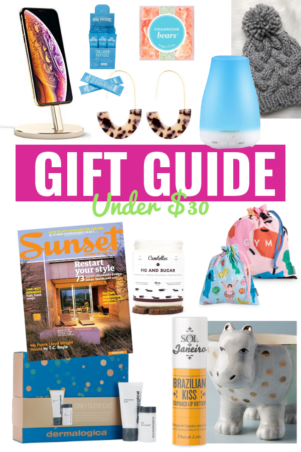 Stocking Stuffer + Gift Ideas Under $30 - Gift Guide 2018 - Gift Unders For Her - Gift Ideas For Him - Affordable Stocking Stuffers