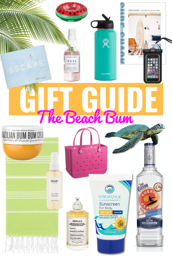 GIFT GUIDE FOR THE BEACH LOVER | Gifts For The Beach Lover - Coastal Gifts - Beach Lover Gifts - Gift Guide 2018 - Gifts For The Beach Lover - Stocking Stuffers For Her - Christmas 2018 Gift Ideas - Hawaii Gift Ideas - Hawaii Lover Gift Ideas - Holiday Gifts 2018