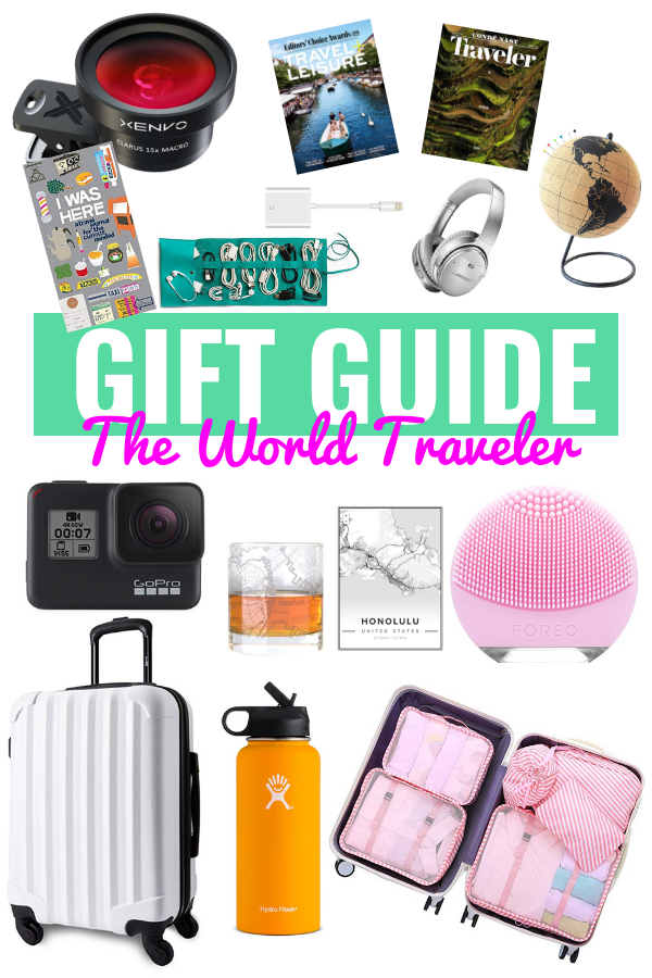 GIFT GUIDE FOR THE TRAVELER | Gift Guide For The Traveler - 2018 Christmas Stocking Stuffers - Stocking Stuffer Ideas - Holiday Gift Ideas For Travelers - Gifts For Travel Lovers - Travel Ideas - Travel Packing List - Communikait by Kait Hanson