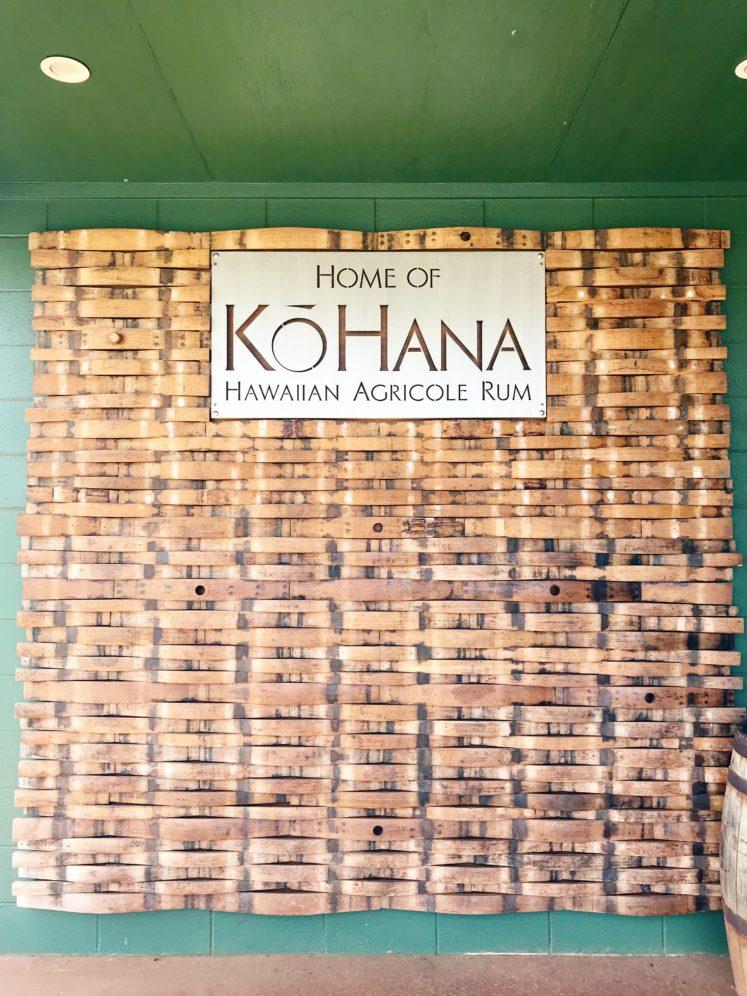 Touring KōHana Rum Distillery + Tasting Room