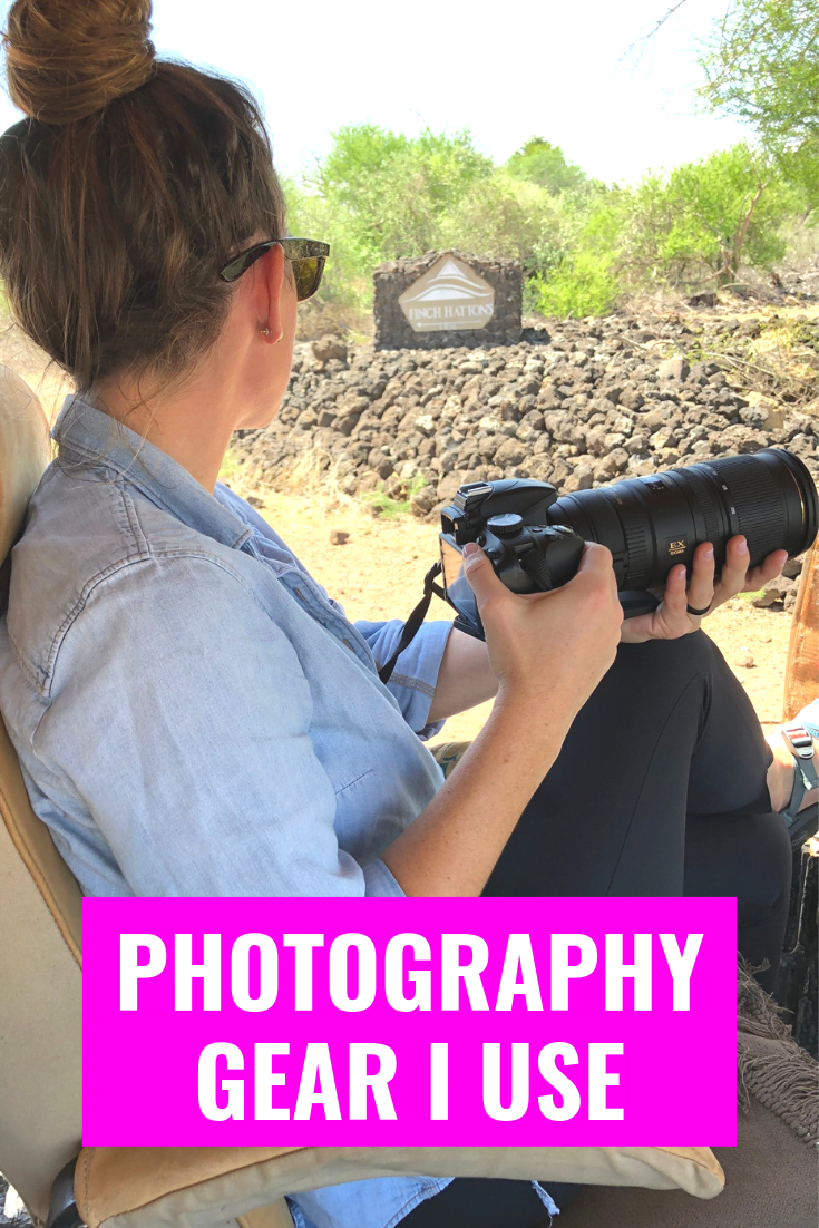 My Photography Gear - Photography Gear For Bloggers - Photography Tips - Photography Gear For Travel Writers - Travel Photography Gear - Best Photography Gear For Beginners - Photography Essentials For Bloggers - Communikait by Kait Hanson #photography #photographytips #blogging