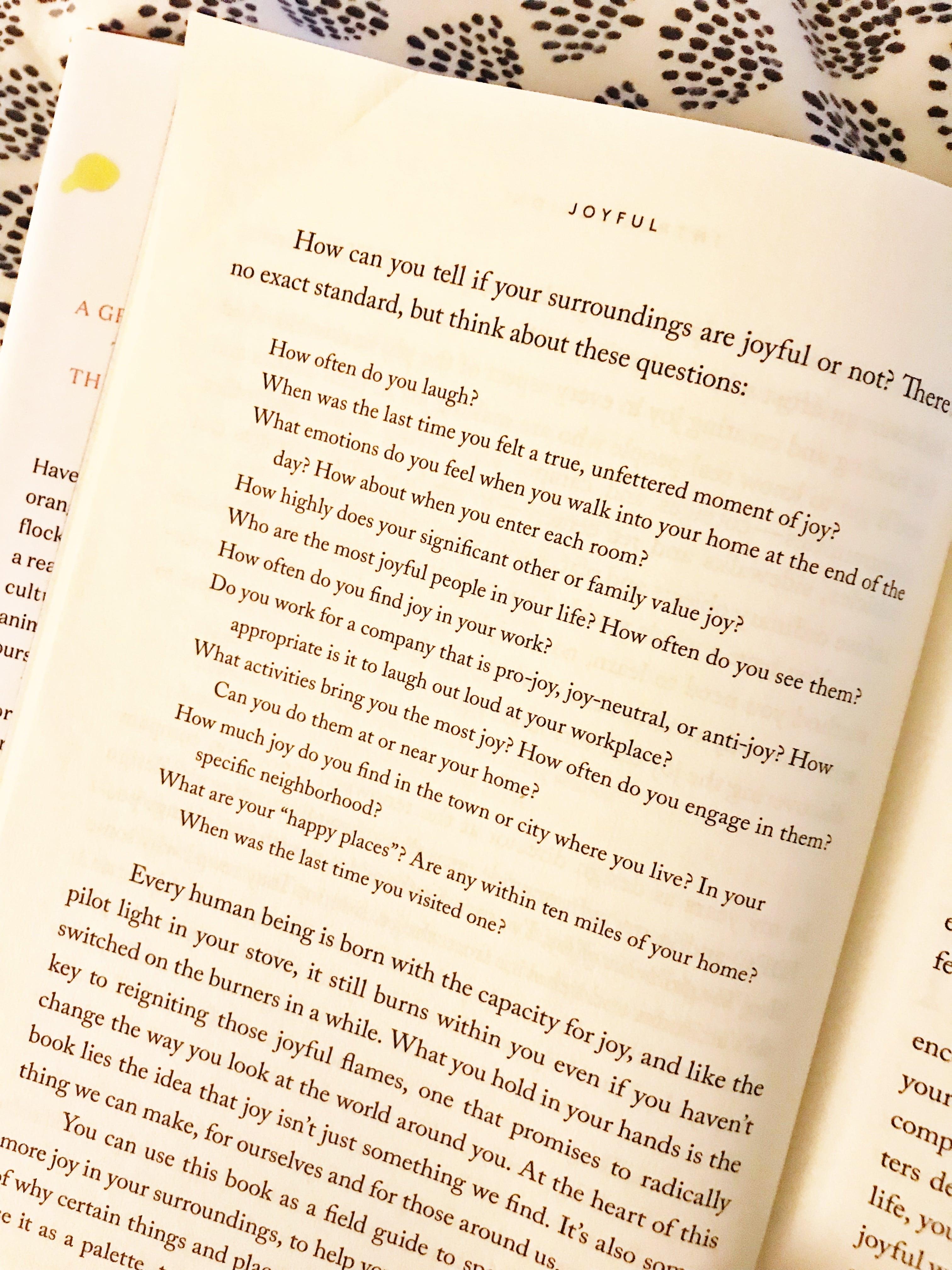 """Book Review: """"Joyful"""" by Ingrid Fetell Lee - Joyful Book Review - Ingrid Fetell Lee TED Talk - Spark Joy"""