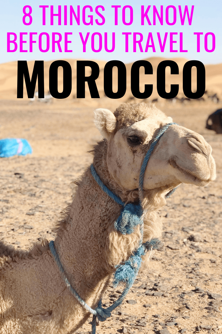 8 Things To Know Before You Go To Morocco - Traveling To Morocco - Planning A Trip To Morocco - Morocco Travel Tips - Tips For Morocco - Morocco Travel - Marrakech Travel - Fes Travel - Travel Blog Morocco - #Morocco #travelblog
