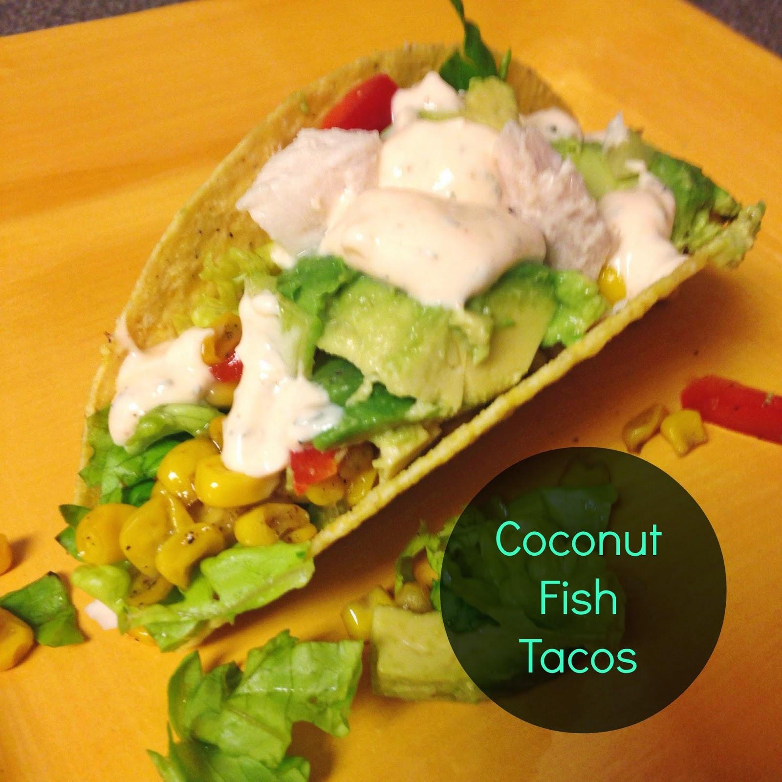 Coconut Fish Tacos