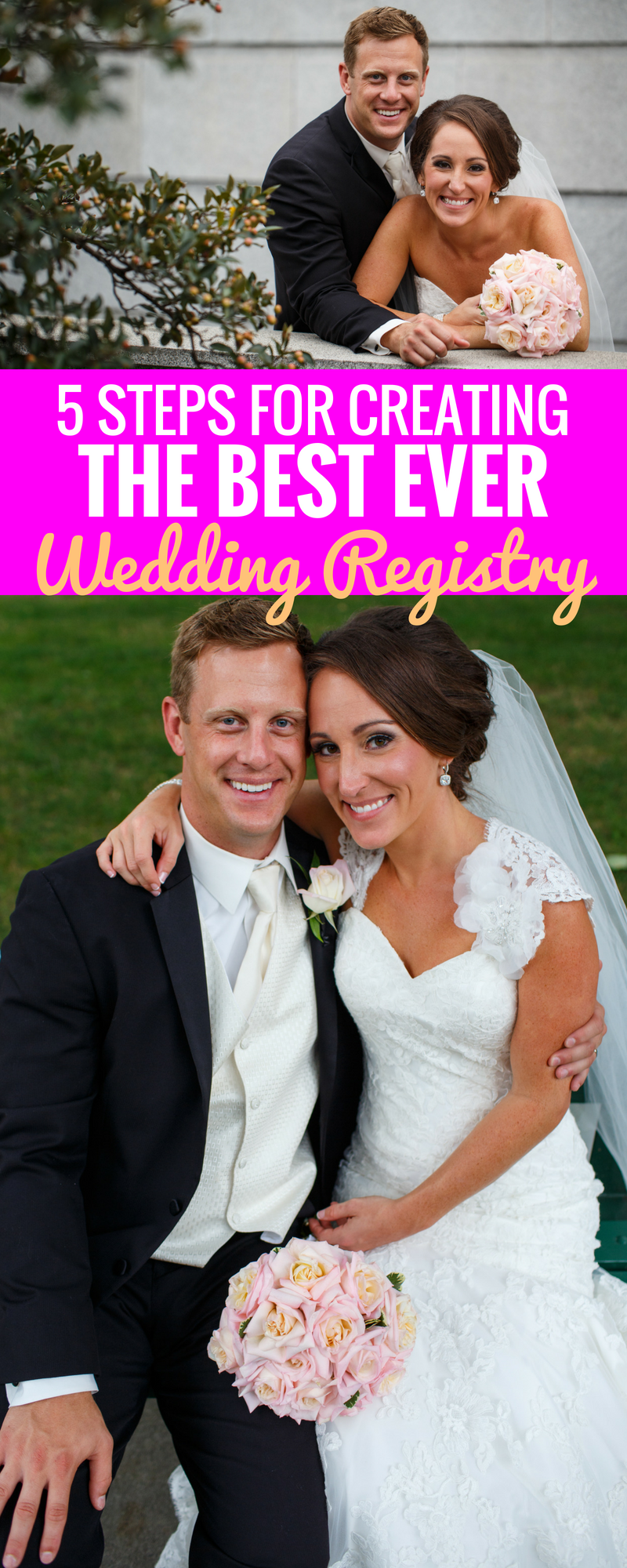 5 Tips For Making A Wedding Registry - Wedding Registry Hacks - Planning A Wedding- Wedding Tips - Best Registry Ideas - Best Places To Register - Wedding Registry Tips - Planning A Wedding - Communikait by Kait Hanson
