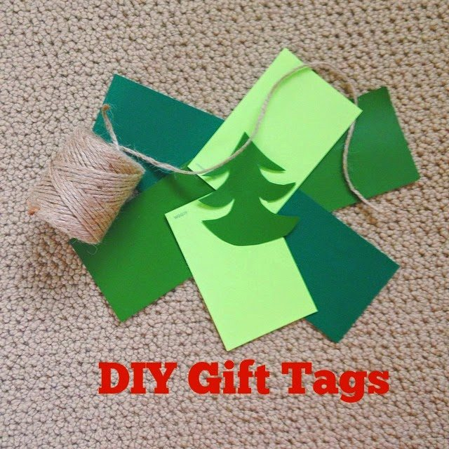 DIY Gift Tags - Paint Chip Gift Tags - Crafts With Paint Chips - Paint Sample Crafts - Easy Crafts - Recycled Crafts - DIY Crafts #DIY