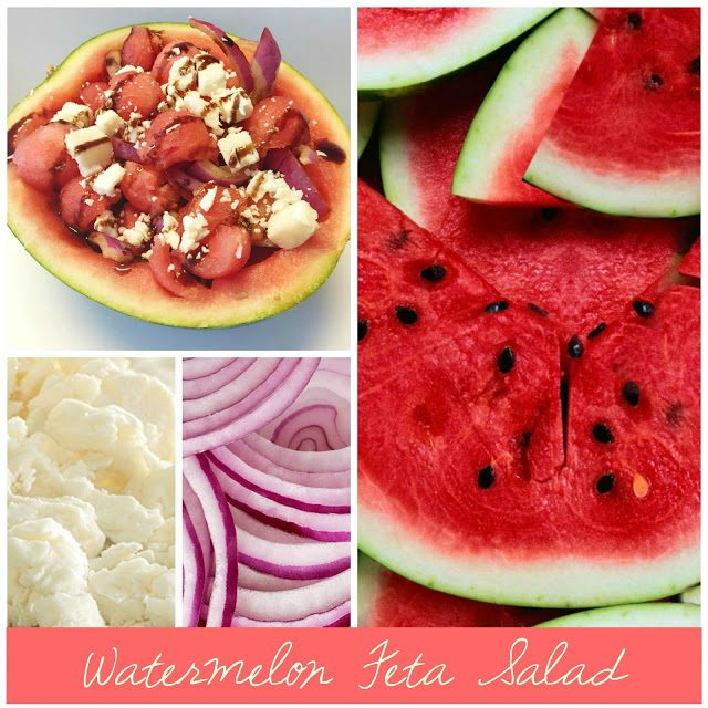 Watermelon Feta Summer Salad
