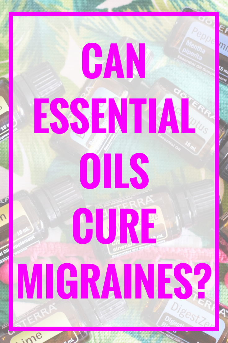 Essential Oils + Migraines