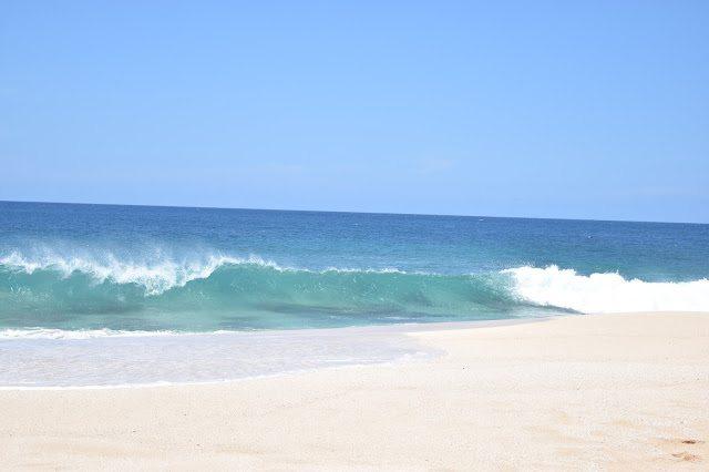 Watching Waves at Three Tables | O'ahu