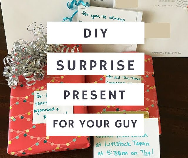 DIY: A Congratulatory Present For Guys