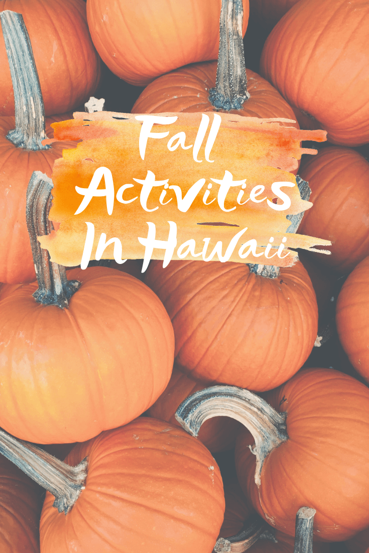 Fall Activities In Hawaii - Sharing all the best fall activities across Oahu, Maui, Kauai, and the Big Island of Hawaii - Fall in Hawaii - Fall 2019 Hawaii