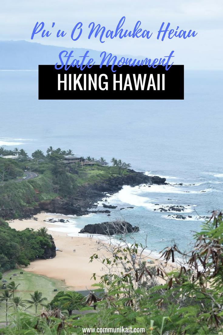 Hiking In Hawaii: Pu'u O Mahuka Heiau State Monument | Oahu, Hawaii