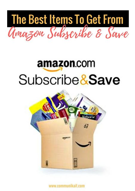 The Best Products To Get From Amazon Subscribe & Save