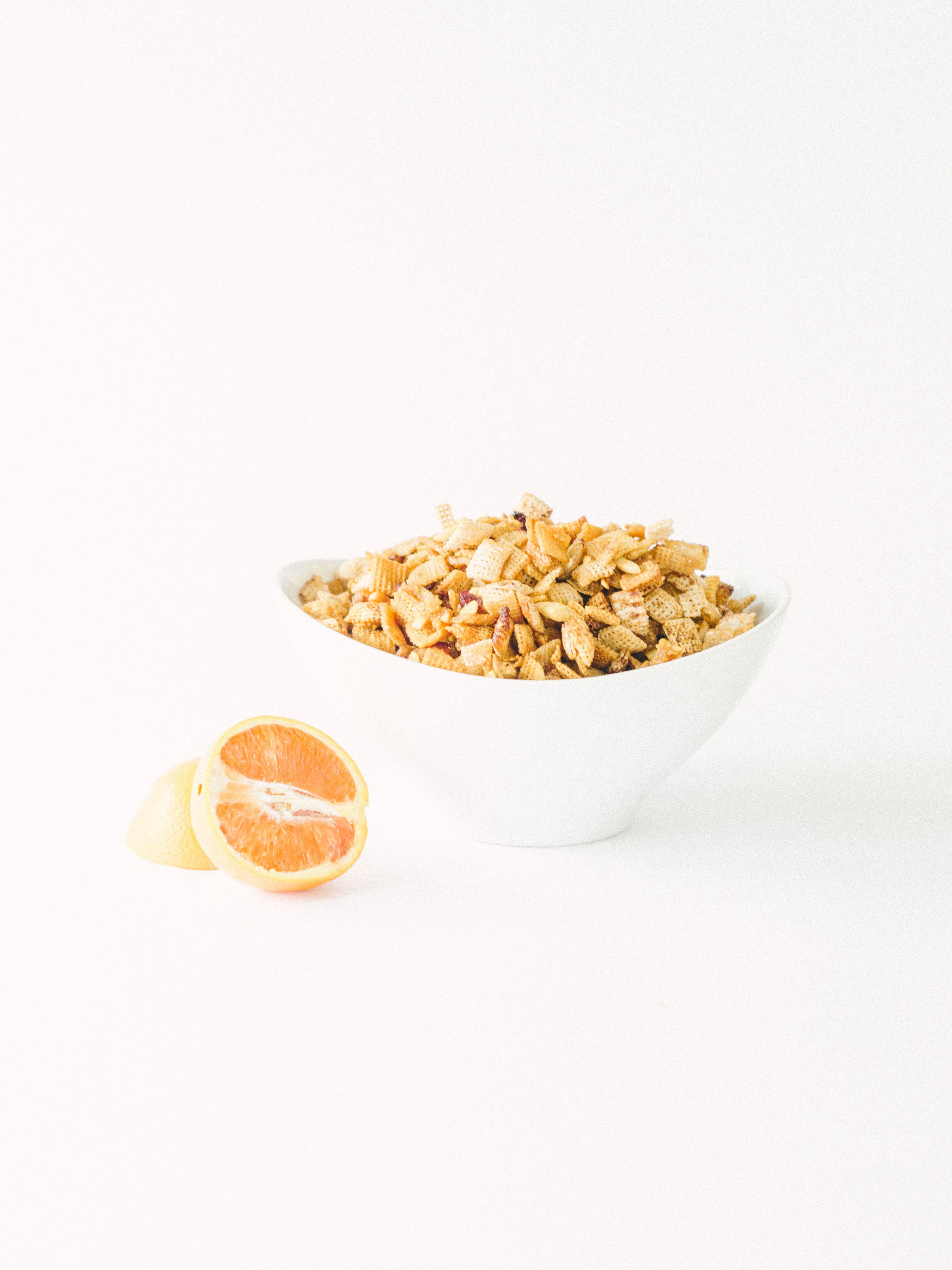 Citrus Berry Trail Mix - Chex Mix Recipe - Rice Chex Mix Recipe - Chex Party Mix - Fall Chex Recipe - Chex Mix Snack Mix Recipe - Chex Mix Gluten Free Mix - Fall Snack - Communikait by Kait Hanson #chexmix #chexrecipe #fall #recipe #glutenfree