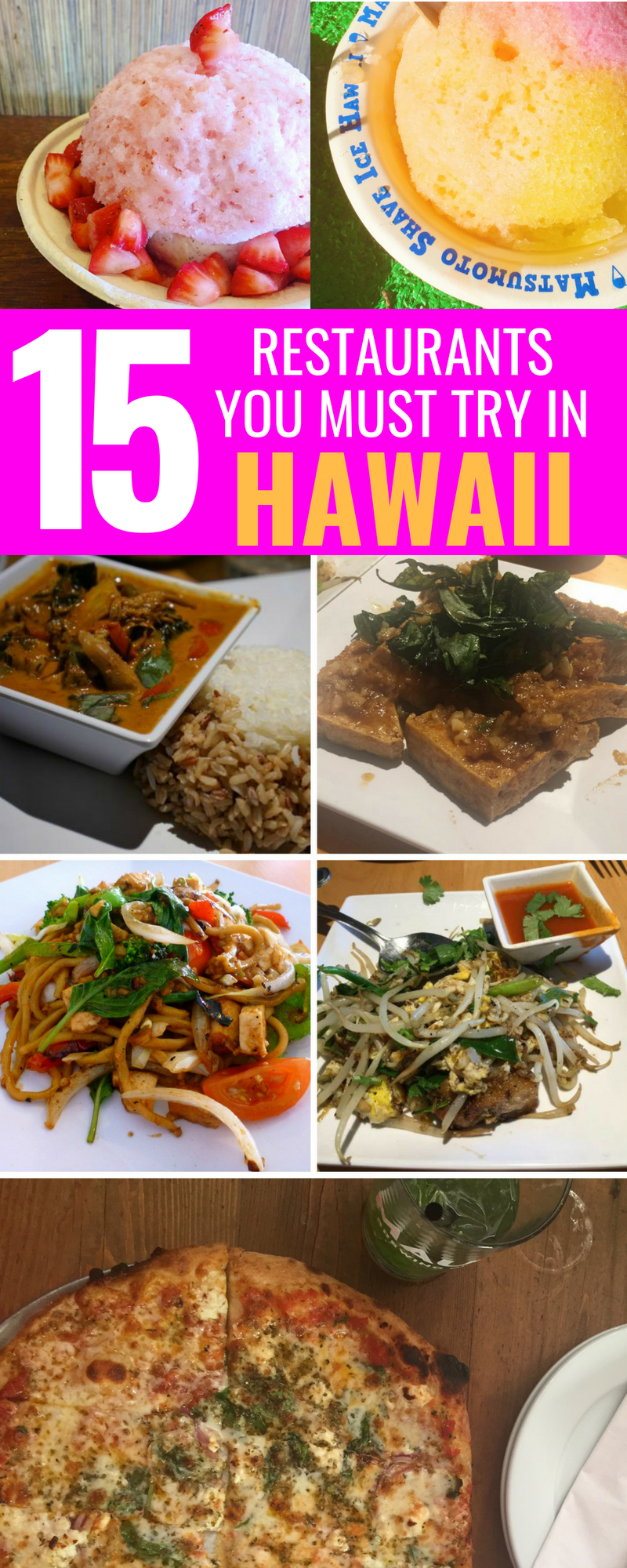 15 Must-Visit Restaurants In Hawaii - Best Restaurants To Visit In Hawaii - Traveling to Hawaii - Oahu - Maui - Hawaii - Lanai -Kauai - Food In Hawaii #hawaii #maui #kauai #oahu #travel