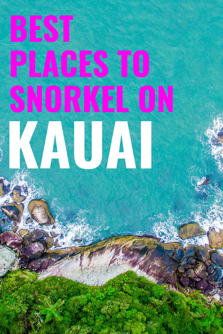 4 Best Places To Snorkel On Kauai - Snorkeling Kauai - Kauai Snorkeling - Snorkeling in Hawaii - Best Snorkeling Kauai - Where to snorkel Kauai - Kauai Hawaii Snorkeling - Kauai Hawaii Vacation - #hawaii #kauai #travelblog