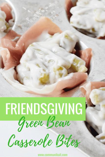 Thanksgiving Remix: Green Bean Casserole Bites