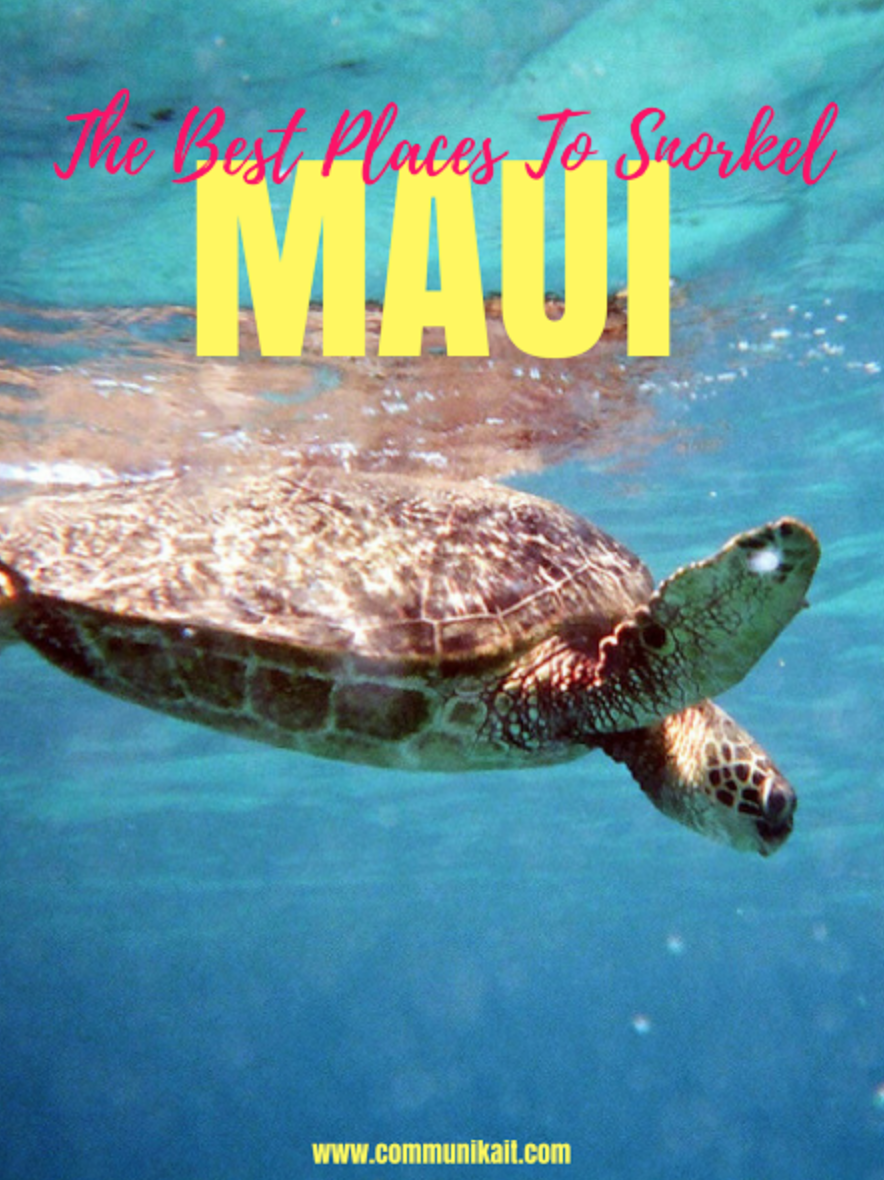 5 Best Places To Snorkel On Maui