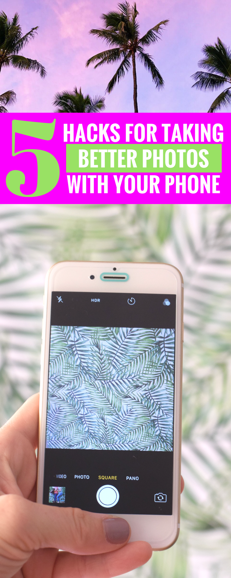 5 Tips For Taking Better Photos With Your Phone - plus my must-have photo editing apps! - Photography Tips - Easy Photo Tips - Tips For Phone Photos - Photography Hacks - Communikait by Kait Hanson