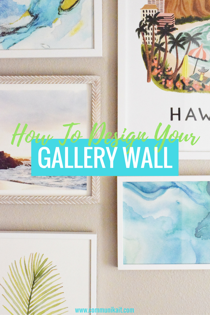 How To Hang A Tropical Gallery Wall