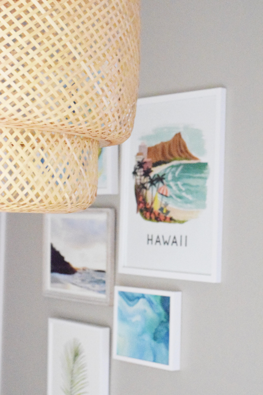 Hawaiian Gallery Wall