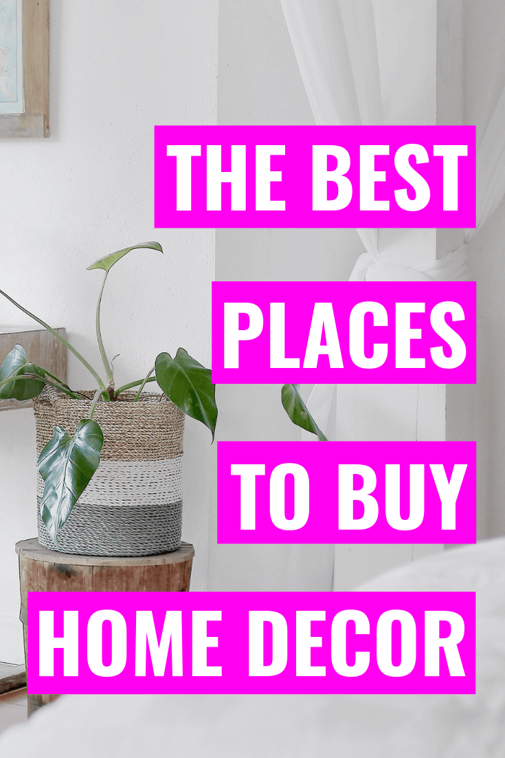 The Best Places To Shop For Affordable Home Decor - Decorating a new house can be hard - even tougher if you're on a budget! These are my favorite places to shop for affordable home decor. | Affordable Home Decor - Modern Home Decor - Home Decor Websites - Home Decor Website - Best Home Decor Shopping Websites - Best Home Decor Websites - Cheap Home Decor Websites - Decor Websites - Decorating on a budget - #decor #home