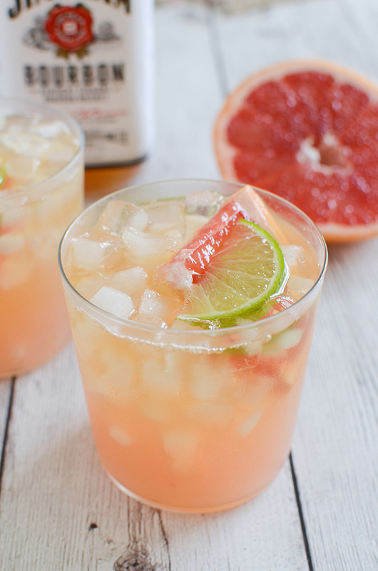 Grapefruit Ginger Bourbon Sour