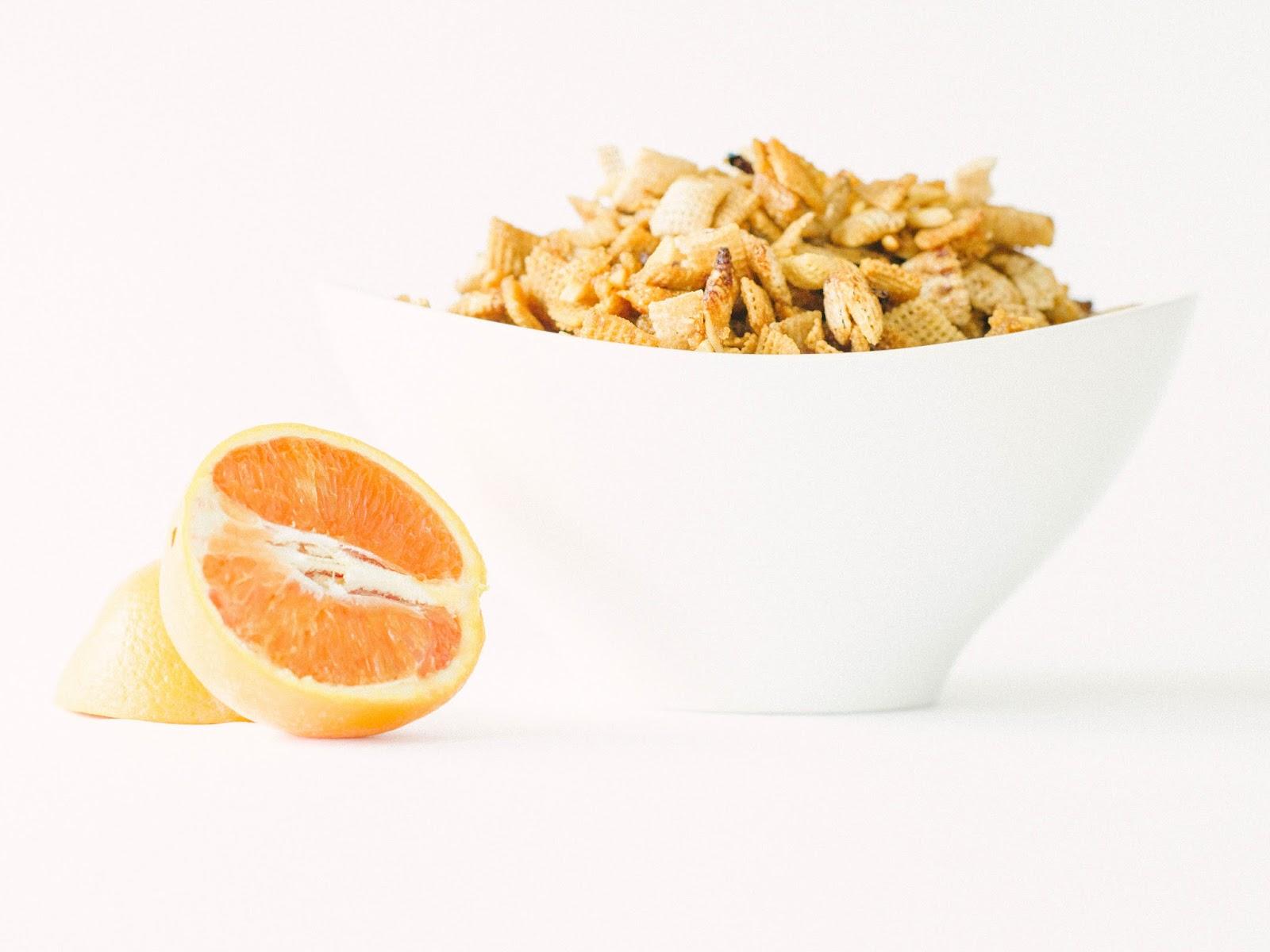 Citrus Berry Trail Mix
