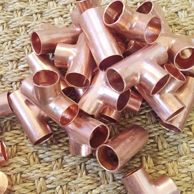 DIY Copper Ladder Under $50