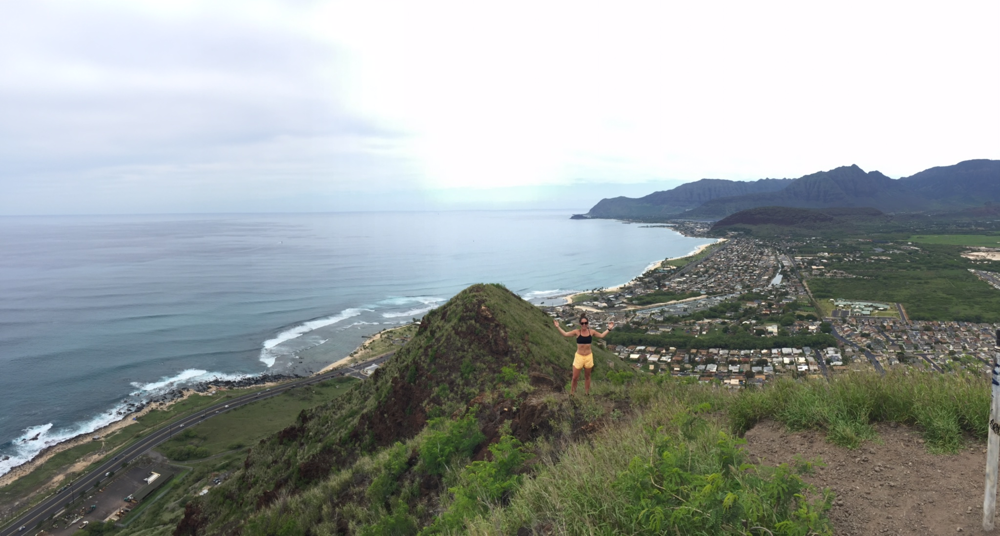 Pink Pillbox Hike_Oahu2