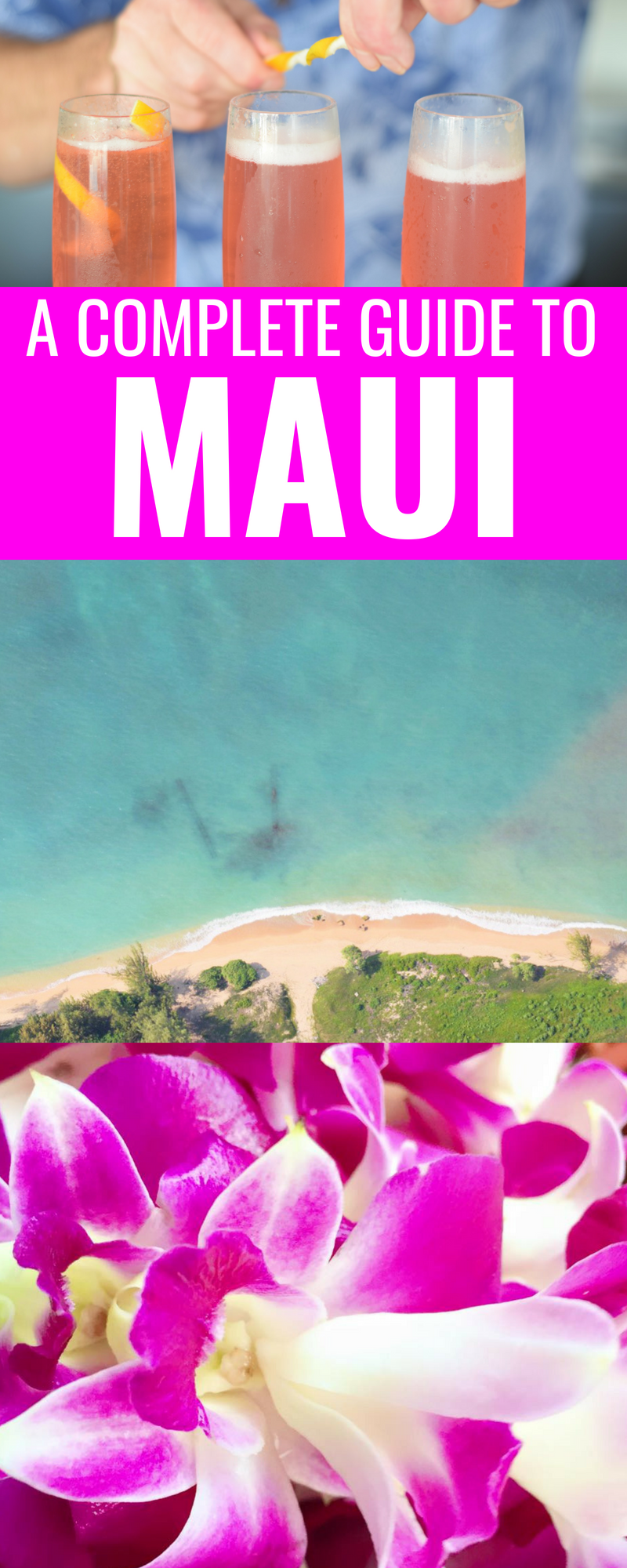 The Ultimate Activity List For Maui - Maui Travel Guide - Best Things To Do On Maui - Maui hawaii - Hawaii Travel Guide - Hawaiian Islands - Things To Do In Maui - Maui Beaches - Hawaii Vacation - Communikait by Kait Hanson #maui #hawaii #travel