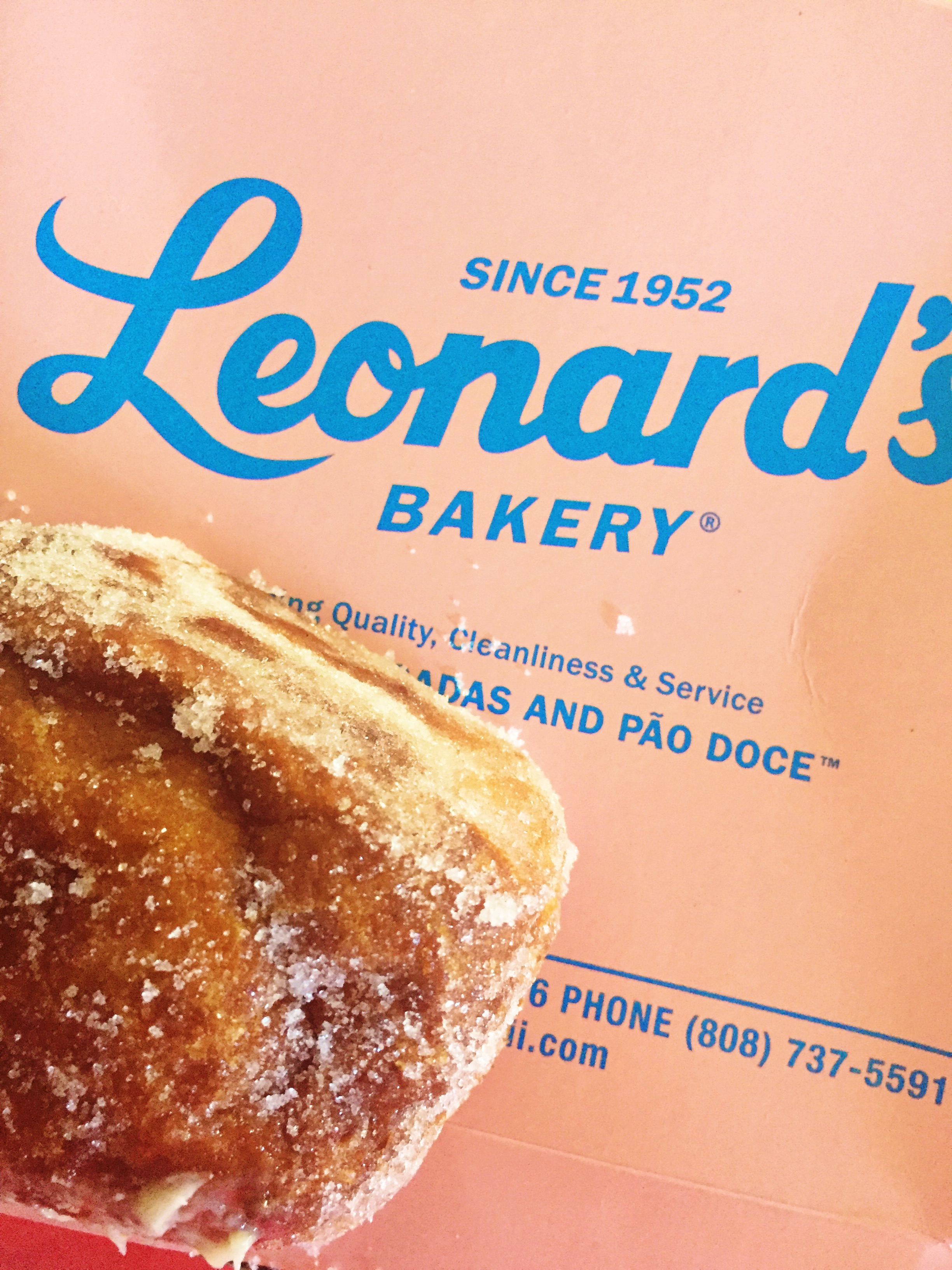 Leonard's Bakery - Honolulu, Hawaii - Malasadas