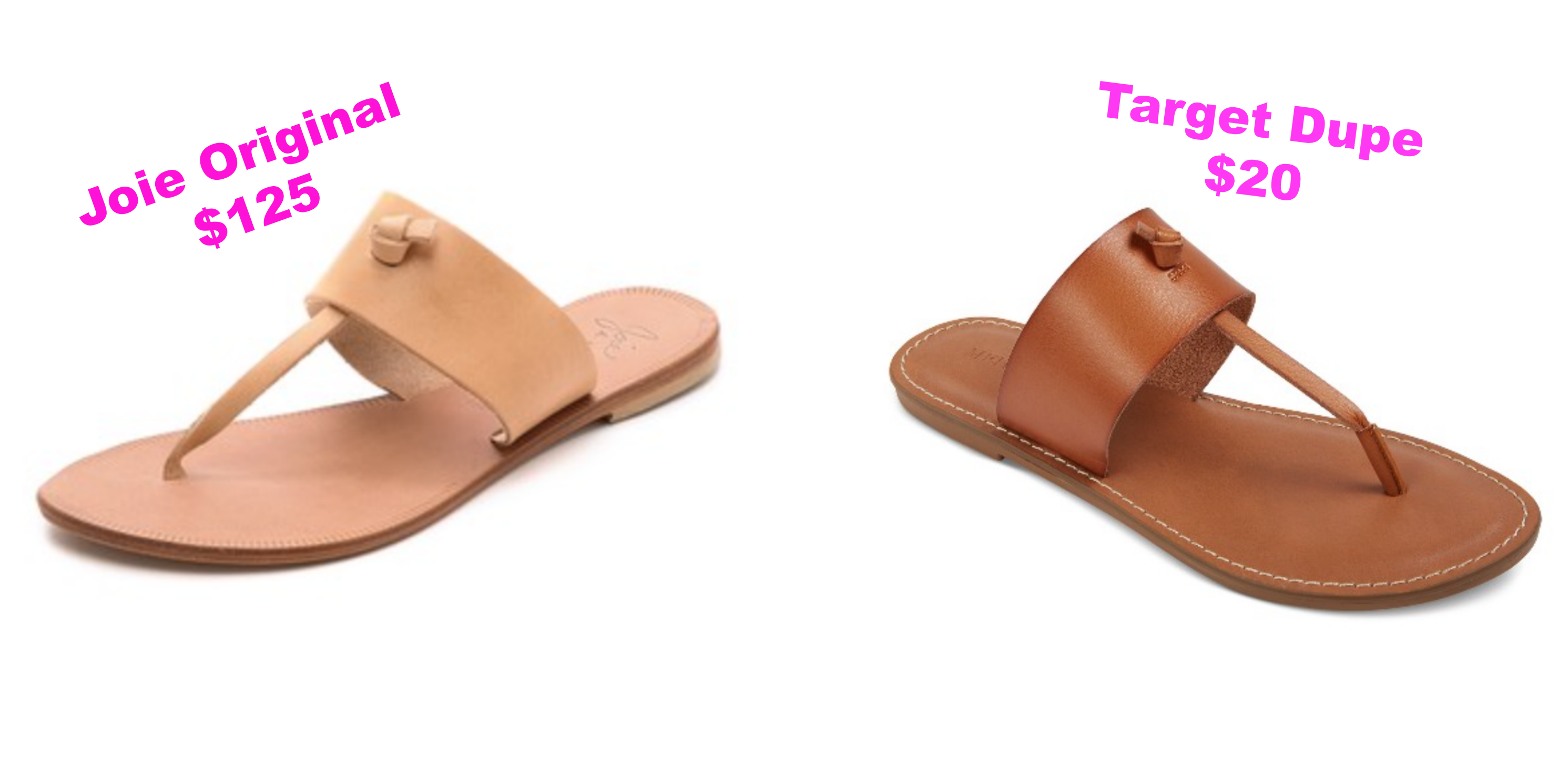 Target Dupe For Joie Sandals - Communikait