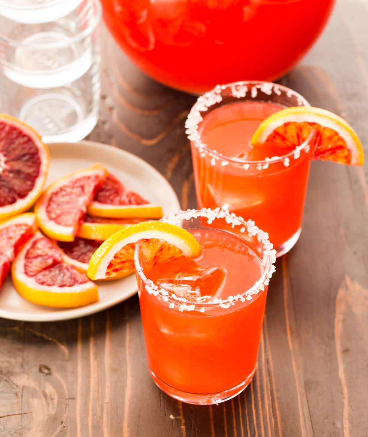 Blood Orange Margaritas - 10 Margaritas For Cinco de Mayo