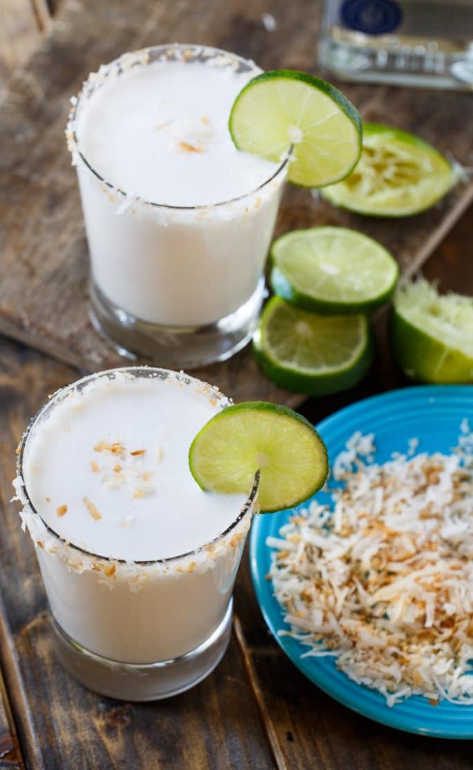 Coconut Margarita- 25 Margaritas For Cinco de Mayo