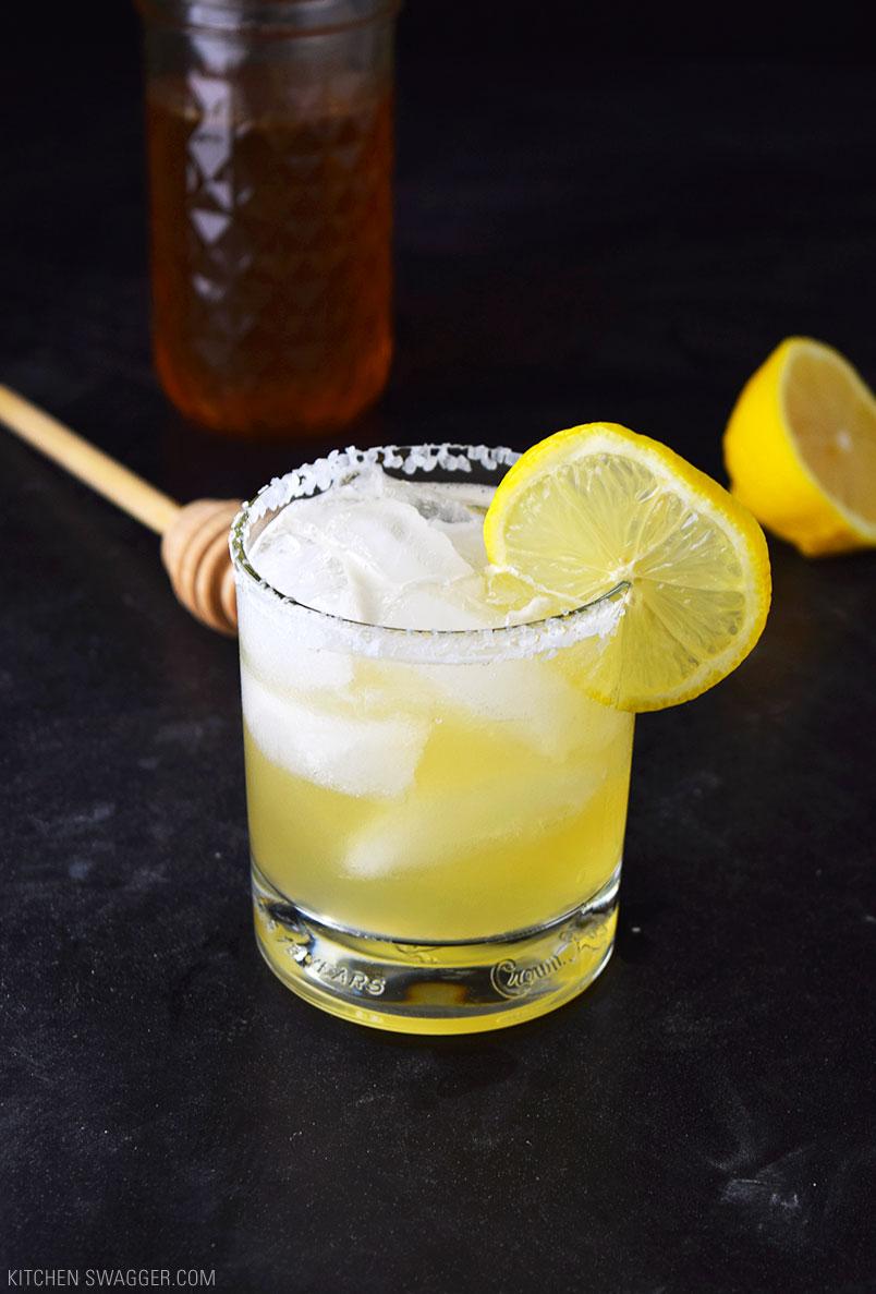 Honey Lemon Anejo Margarita - 25 Margaritas For Cinco de Mayo