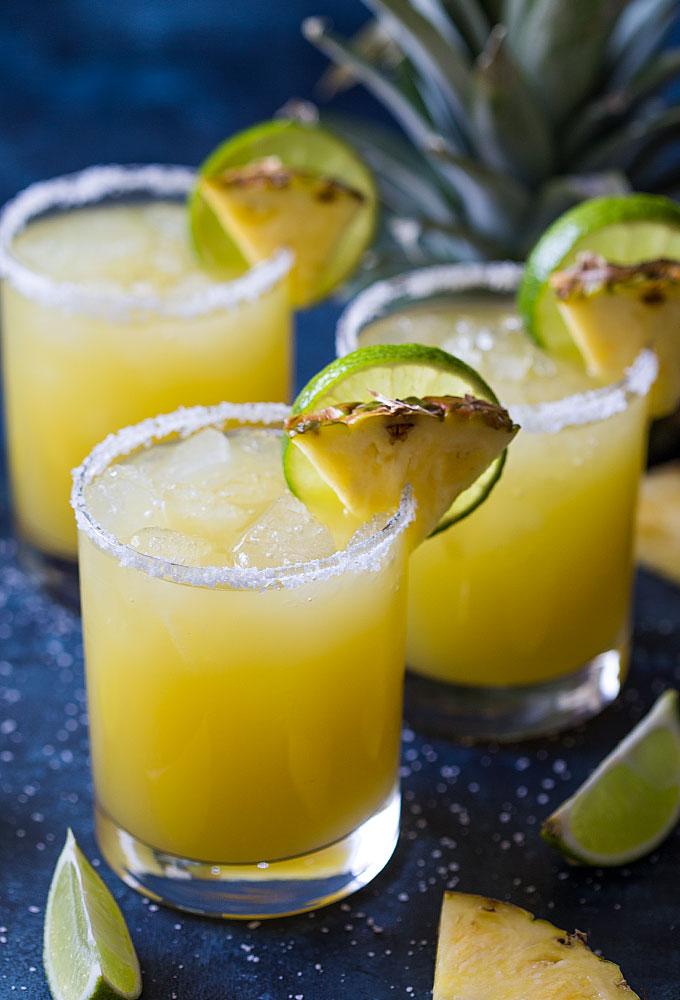 Pineapple Margarita - 10 Margaritas For Cinco de Mayo