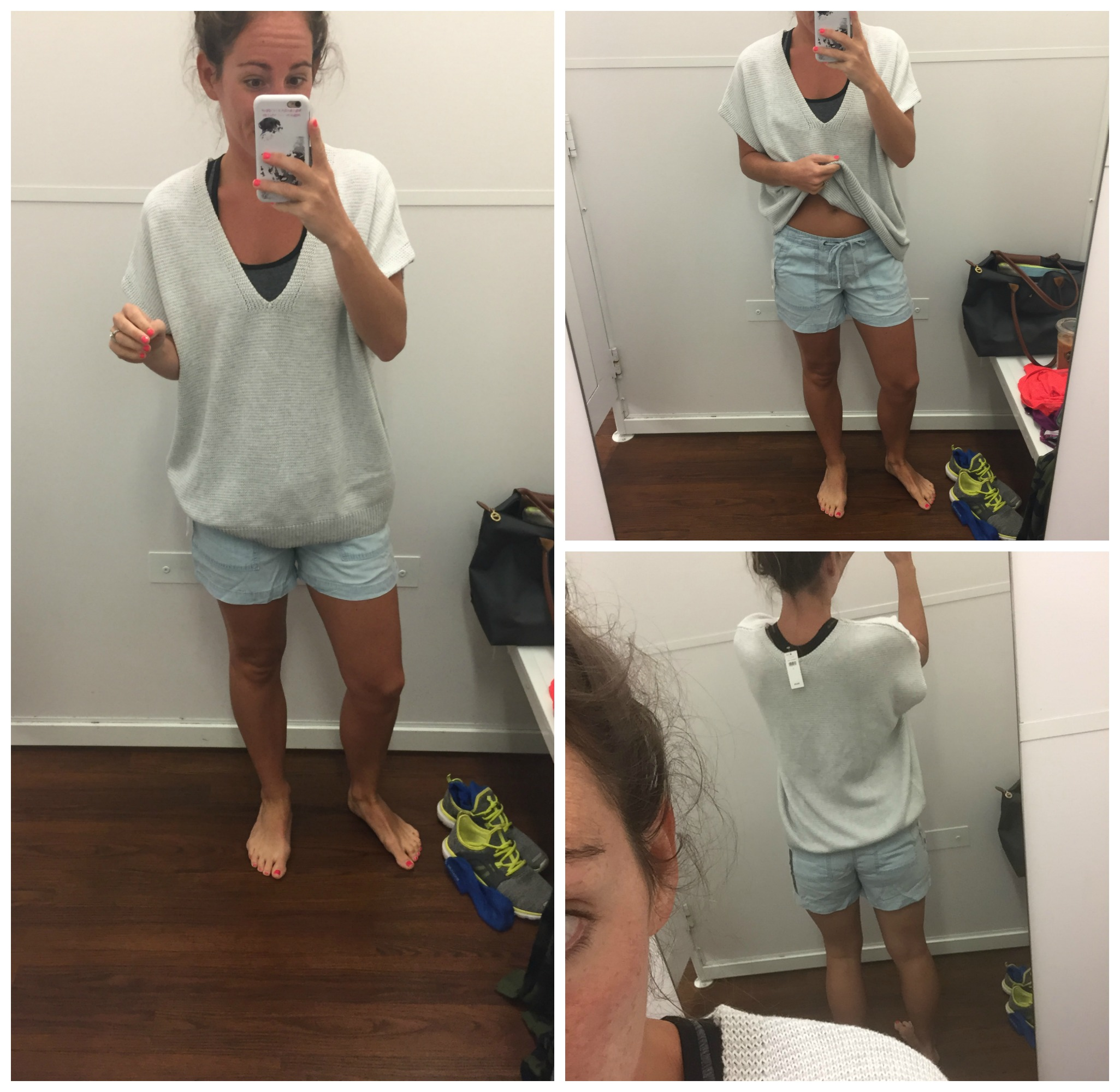 Sweater & Shorts - Dressing Room Diaries - GAP Outlet