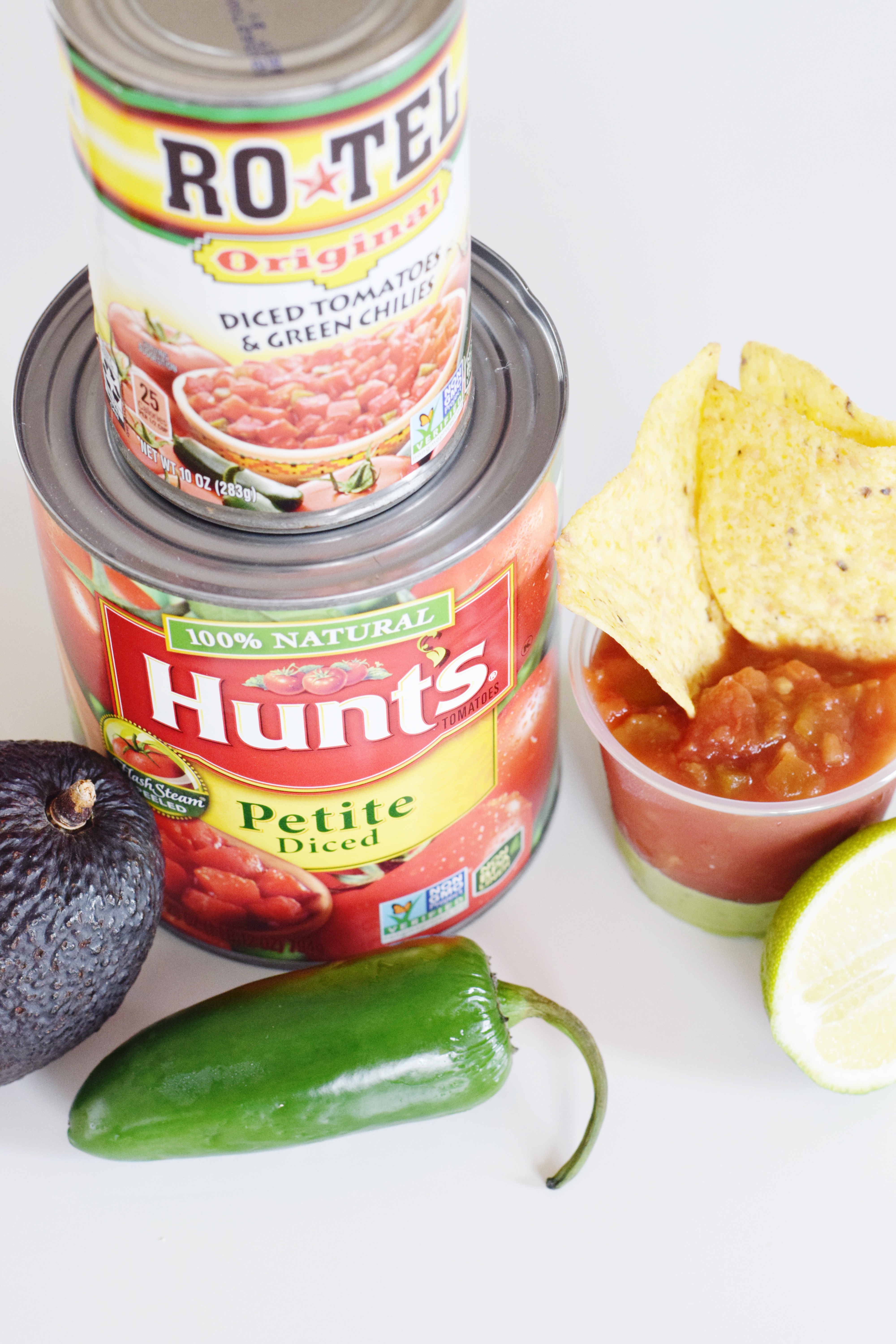 Spicy Tomatillo Salsa Shooters - A party appetizer perfect for bigger crowds! - CommuniKait