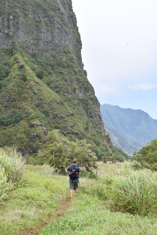 Hiking Hawaii - Oahu - KoleKole Pass - Schofield Barracks - Communikait