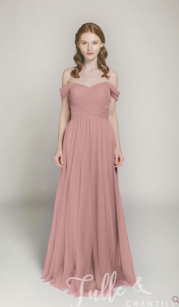 Dusty Rose Bridesmaid Dress - CommuniKait