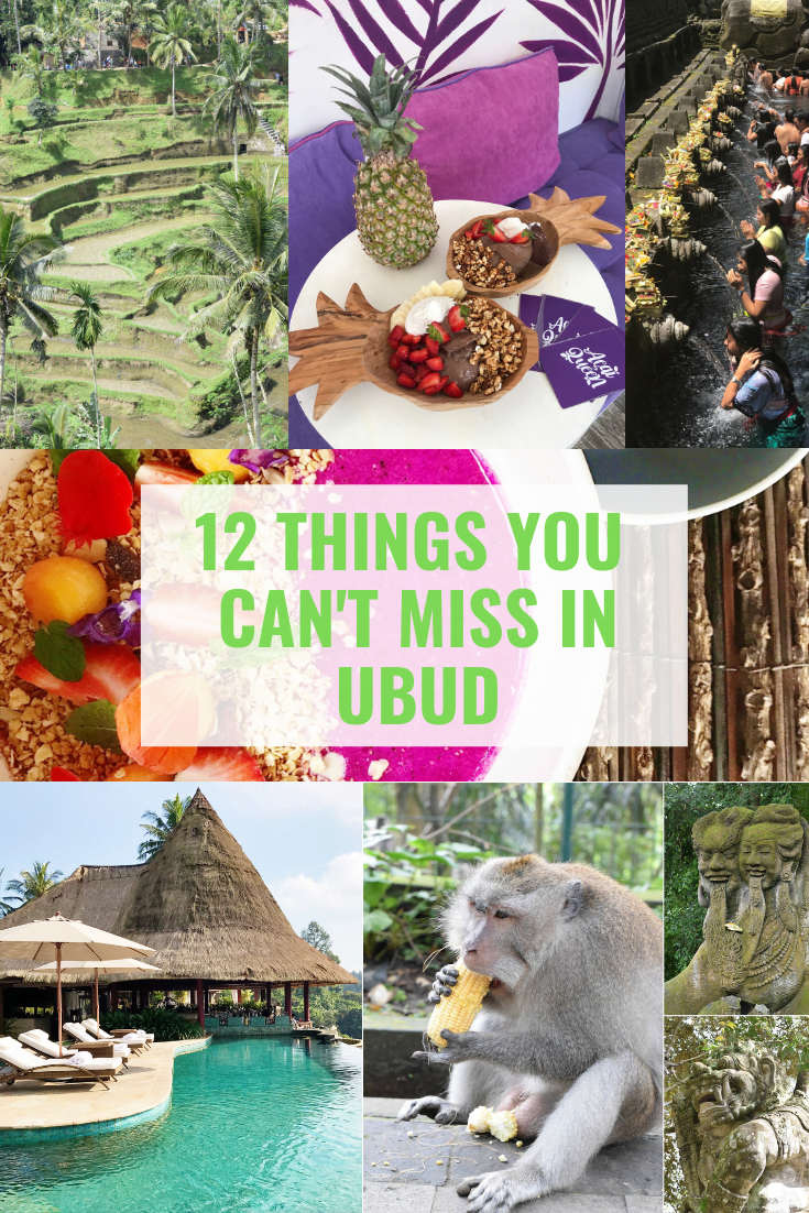12 Things You Can't Miss In Ubud Bali - Ubud Bali - Ubud Monkey Forest - Ubud Travel Blog - Ubud Bali Hotels - What To Do In Ubud - #ubud #bali #travelblog