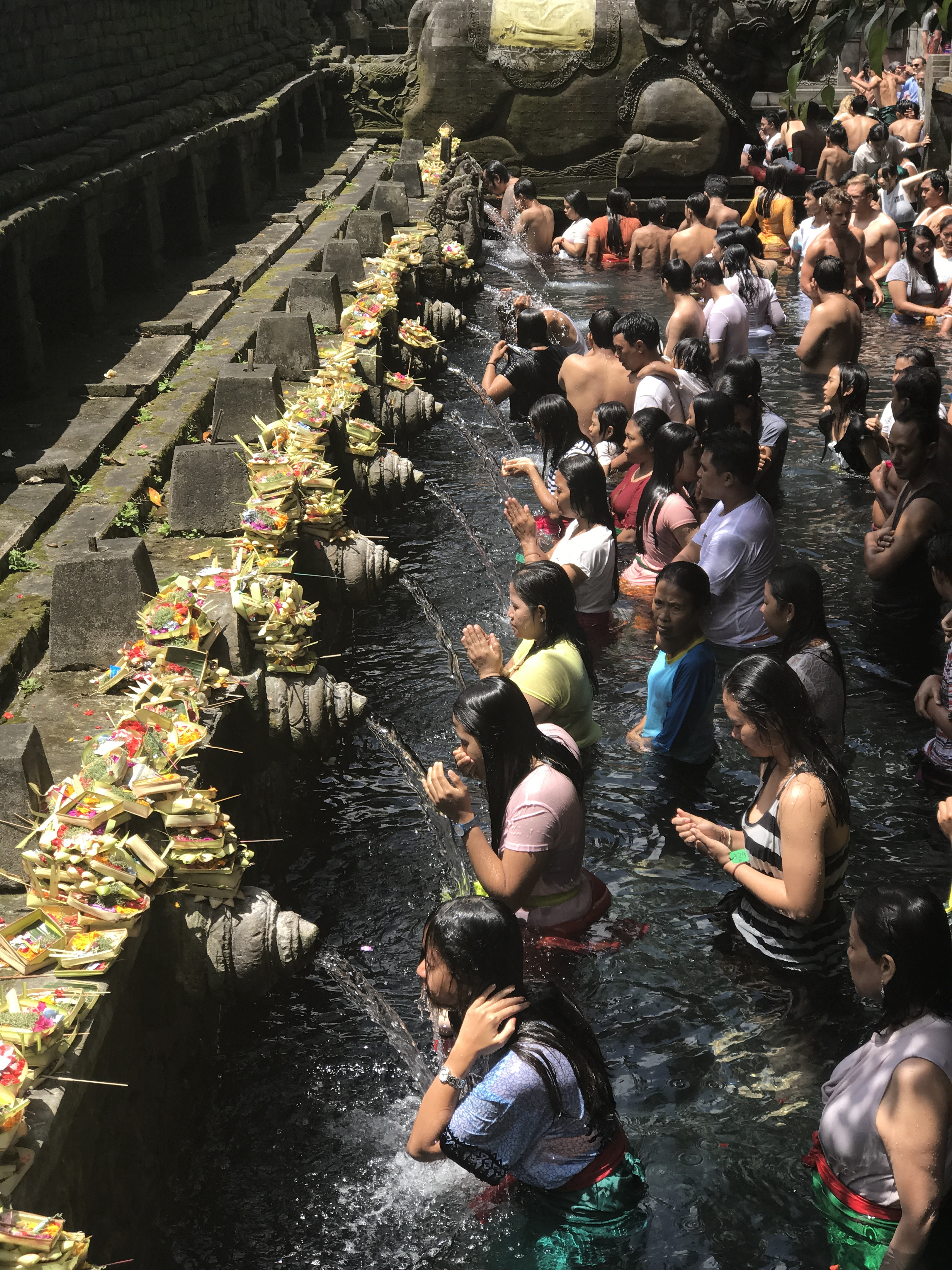 Tirta Empul Temple - Ubud, Bali, Indonesia - Our Bali Trip - 12 Things You Can't Miss In Ubud Bali - Ubud Bali - Ubud Monkey Forest - Ubud Travel Blog - Ubud Bali Hotels - What To Do In Ubud - #ubud #bali #travelblog